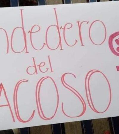 PIDEN SEXO A CAMBIO DE BUENAS CALIFICACIONES: Universitarias de Chiapas exhiben a maestros acosadores con 'tendedero del acoso'