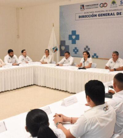 Suspende Laura Fernández actos públicos, actividades con personas de la tercera edad, eventos deportivos y culturales en Puerto Morelos