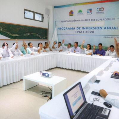 Aprueba Puerto Morelos el programa de inversión anual 2020