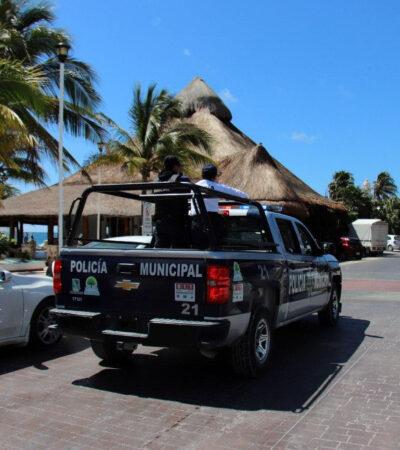 Participa Puerto Morelos en operativo 'Máxima Presencia' ante COVID-19