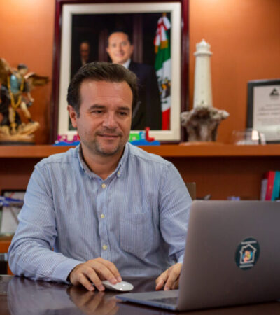 Cozumeleños que no acaten las medidas sanitarias recibirán sanciones administrativas o podrían ir a la cárcel, anuncia Pedro Joaquín