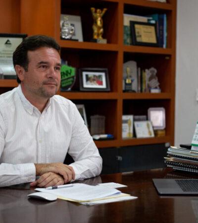 De no guardar la sana distancia, se registrarían más de 2 mil 500 casos positivos y cerca de 200 defunciones en Cozumel, advierte Pedro Joaquín