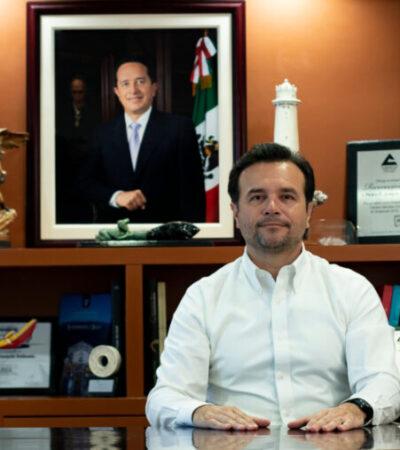 Continúan trabajando para prevenir propagación del coronavirus en Cozumel, afirma Pedro Joaquín
