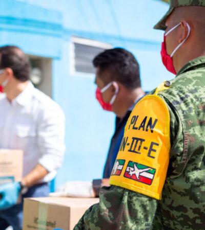 En Cozumel han recibido apoyo alimentario más de 18 mil familias durante contingencia
