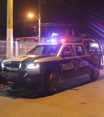 """Elementos policíacos refuerzan el operativo """"Máxima Seguridad"""" en comercios, farmacias y escuelas de Cozumel"""