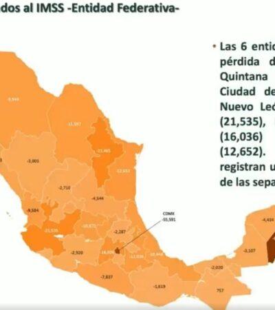 CAE EL EMPLEO: Más de 346 mil puestos de trabajo se han perdido desde el 13 de marzo