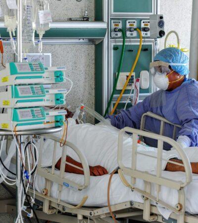 Cuesta 20 mil pesos diarios la hospitalización por COVID-19 en México