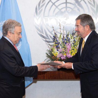 Logra México histórico acuerdo en la ONU para atender pandemia de COVID-19