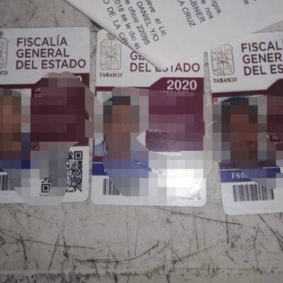 Van tras policías ministeriales dedicados al secuestro y la extorsión en Tabasco