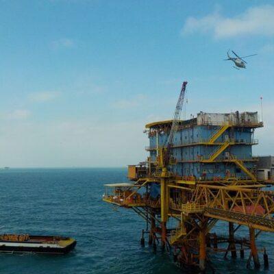 Desalojan a 4 trabajadores de la plataforma petrolera Abkatún por sospecha de COVID-19