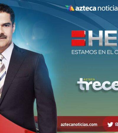 APERCIBE SEGOB A TV AZTECA: Debe manifestar públicamente respeto a medidas sanitarias o habrá consecuencias…