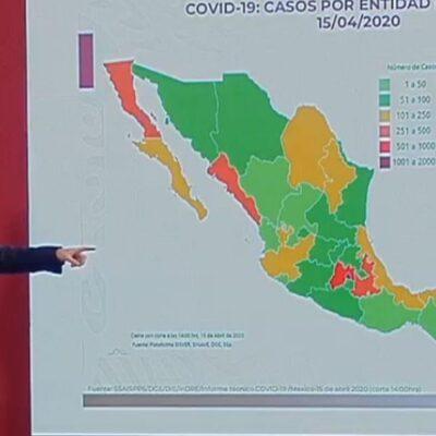 COVID-19 CAUSA 449 MUERTES EN MÉXICO: Pacientes declarados graves mueren al noveno día, en promedio…