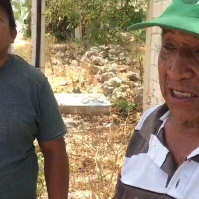 Ciudadanos de Felipe Carrillo Puerto denuncian falta de apoyo alimentario para familias mayas