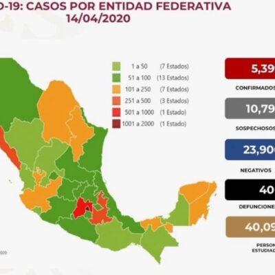 Cifra de muertos por coronavirus llega a 406 en México