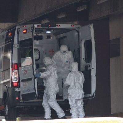 Suman 712 muertes por COVID-19 en México; contagios llegan a 8 mil 772 casos
