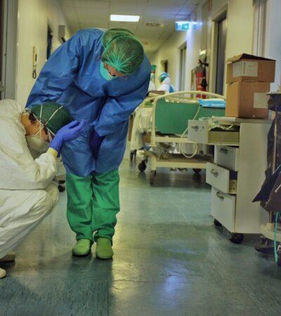 Reportan mil 934 profesionales de la salud contagiados de COVID-19 en México