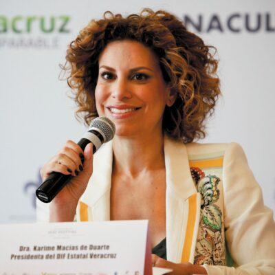 Aprehenden a 8 excolaboradores de Karime Macías en el DIF de Veracruz