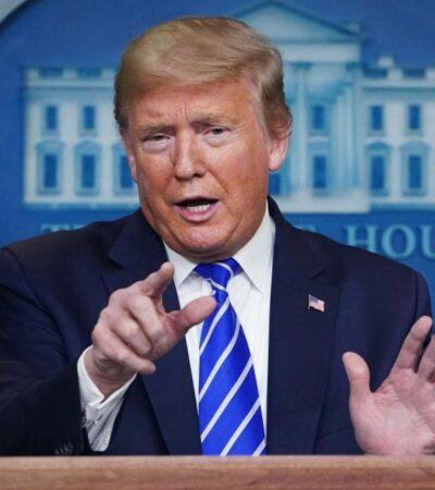 Tunden críticas a Trump tras sugerir 'inyección de desinfectante' contra COVID-19