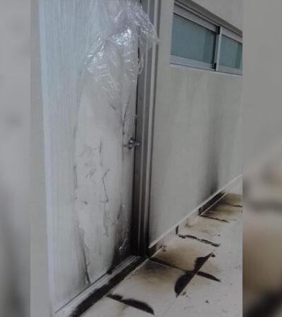 Vandalizan hospital rural en Nuevo León que sería entregado al Ejército para combatir COVID-19