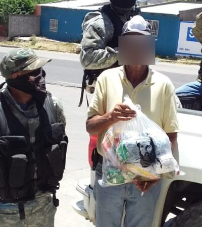 Cárteles continúan entregando despensas en diez estados del país