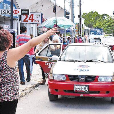 Reducirán circulación de taxis en Campeche como medida contra COVID-19
