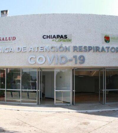 Hospitalizan a niña de 8 años por COVID-19 en Chiapas