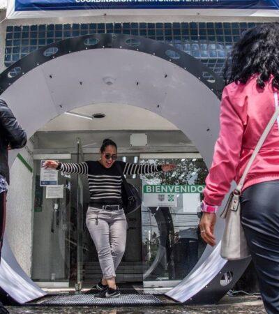 Anuncian retiro de túneles sanitizantes en la CDMX; podrían propagar el coronavirus