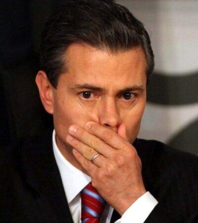 Descarta AMLO que Gobierno federal investigue a Peña Nieto