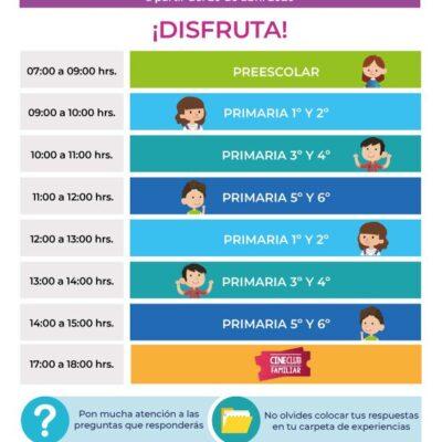 REINICIAN LAS CLASES… VIRTUALES: Listo en Quintana Roo para retomar las actividades del programa 'Aprende en Casa'