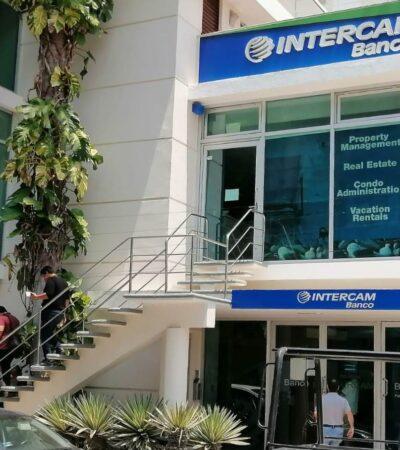 Asaltan oficinas dentro de instalaciones bancarias en Playa del Carmen