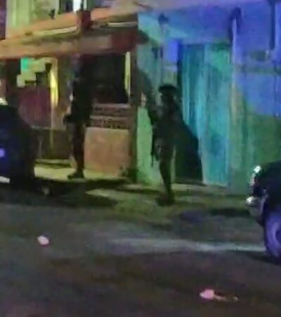 Reportan disparos contra domicilio en Cozumel; no hubo lesionados o víctimas