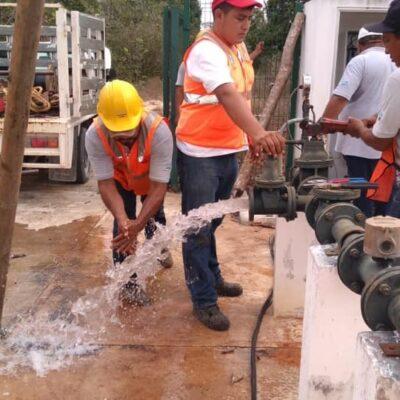 Restablece CAPA el servicio de agua potable en comunidad de la Zona Maya, luego de tres semanas de desabasto