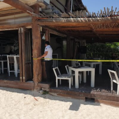 Clausuran restaurante en Chemuyil por permitir consumo de clientes dentro de sus instalaciones, pese a restricciones sanitarias