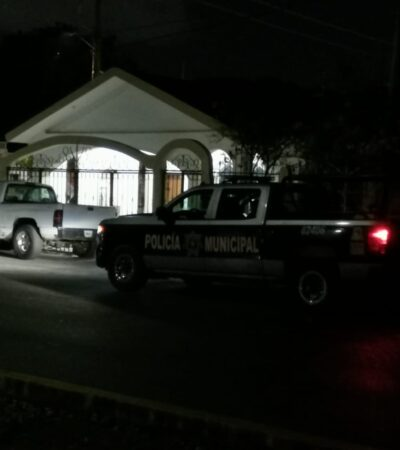 Balean otra vez casa de hermana de 'El Paletas', un ex líder de los Zetas en Playa del Carmen
