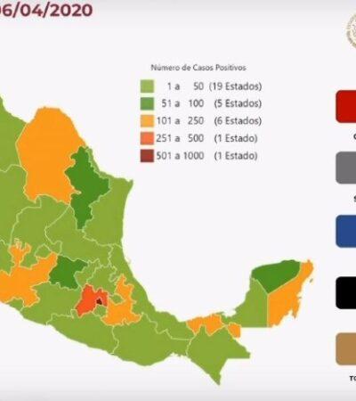 AUMENTAN ENFERMOS Y MUERTOS POR COVID-19 EN MÉXICO: Suma 125 decesos y 2 mil 439 contagios confirmados