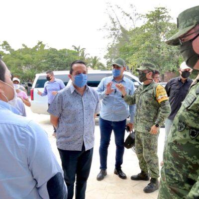 SE PREPARA QR PARA LA ETAPA MÁS FUERTE: Recorre Gobernador hospital comunitario de Tulum