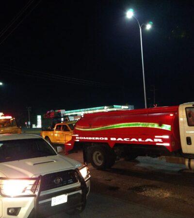 SEGUIMIENTO | Trabaja Conafor, bomberos y Protección Civil en incendio de la comunidad David Gustavo