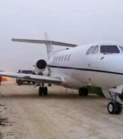 Aterriza narco avioneta cerca de comunidad de Reforma municipio de Bacalar; hallan aeronave, pero ya sin droga