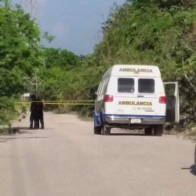 Ejecutan a un hombre cerca de una escuela en Chetumal