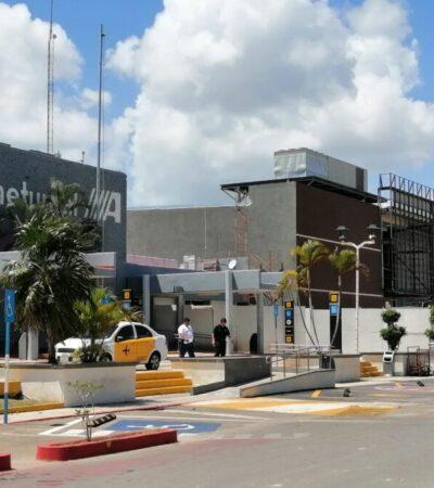 Anuncian suspensión de vuelos de Chetumal a CDMX y Guadalajara por emergencia sanitaria