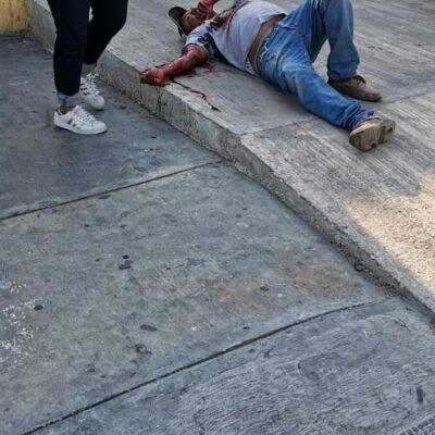 INTENTO DE EJECUCIÓN EN CHETUMAL: Disparan contra un hombre en la avenida Constituyentes de la capital de QR