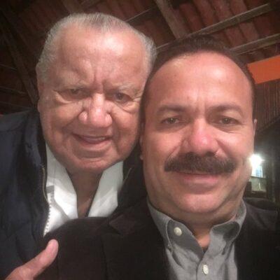 """""""DESCANSA EN PAZ VIEJO"""": Fallece padre de Julián y Alicia Ricalde"""