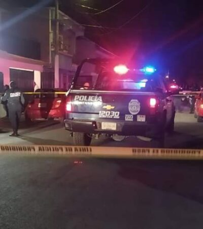 DISPAROS EN LA CAPITAL DE QR: Intentan ejecutar a una persona en Chetumal, pero sale ilesa