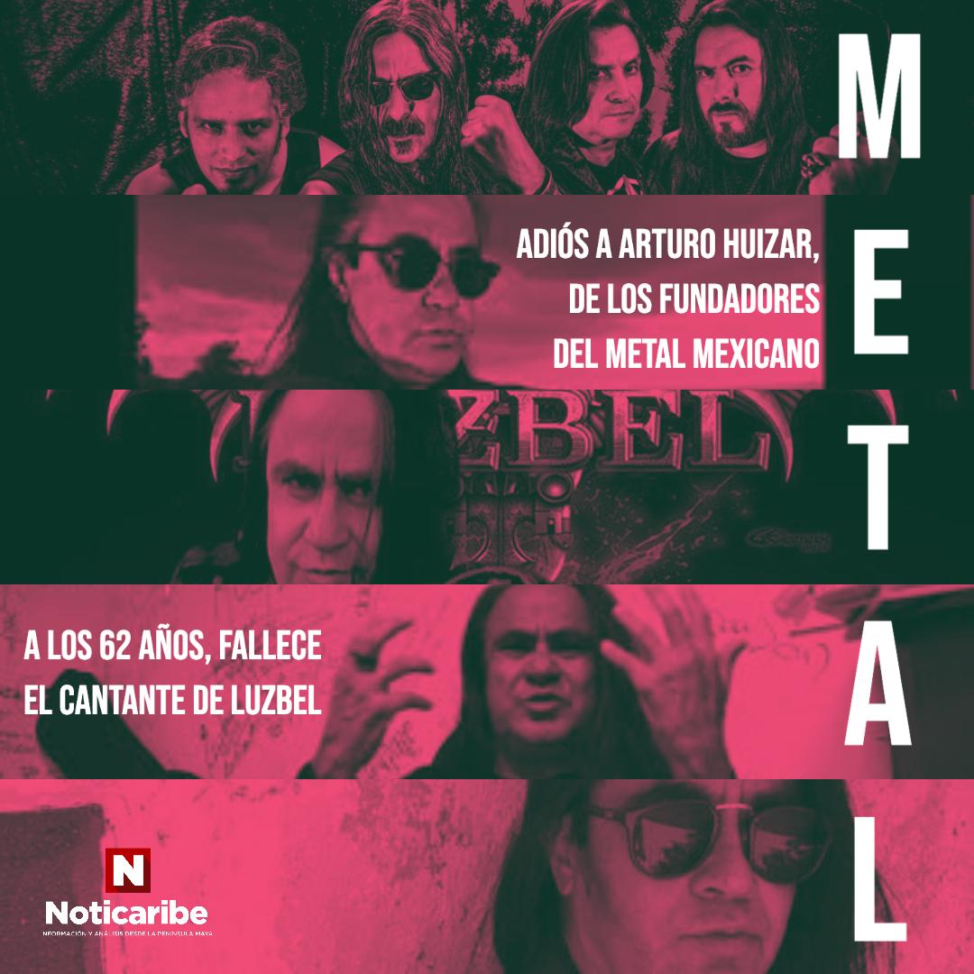 ADIÓS A UNO DE LOS PILARES DEL METAL MEXICANO: A los 62 años muere Arturo Huizar, legendario cantante de Luzbel