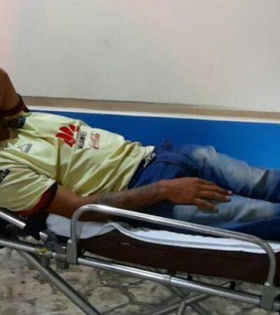 Hombre se resiste a asalto y lo balean en el fraccionamiento Paraíso Maya, en Cancún