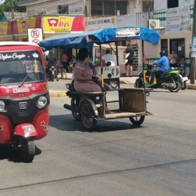 Afecta contingencia sanitaria economía de mototaxistas en José María Morelos