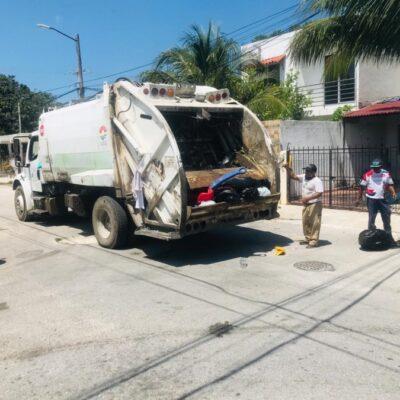 Recolectores de basura de Intelligencia México trabajan totalmente desprotegidos durante la contingencia sanitaria