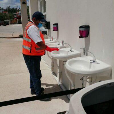 Reforzarán jornadas de sanitización en terminales marítimas de QR, anuncia Apiqroo