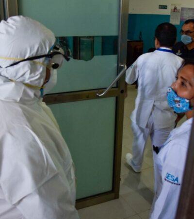 Aumento de casos de coronavirus en QR son claros y se ajustan a lo que se esperaba, afirma Carlos Joaquín
