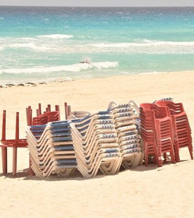 Zona hotelera de Cancún luce completamente vacía, a dos semanas de anunciarse contingencia sanitaria por coronavirus